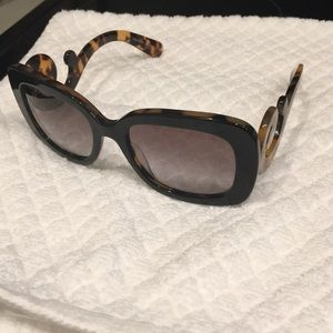 Well loved Authentic Prada Scroll Sunglasses